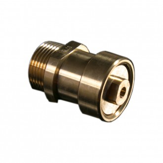 AIR RELEASE VALVE MALE BSPT BRASS