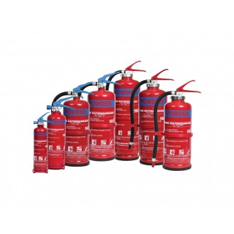 FIRE EXTINGUISHER DRY POWDER ABC