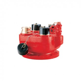 BREECHING INLET 4-WAY DI (RED)