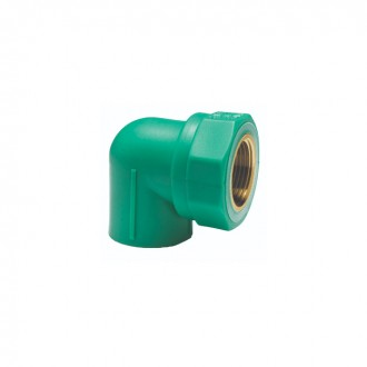 ELBOW FEMALE THREADED PN 25